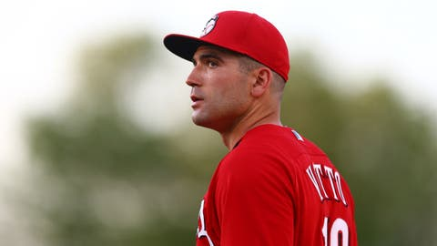 Will Votto stay healthy?