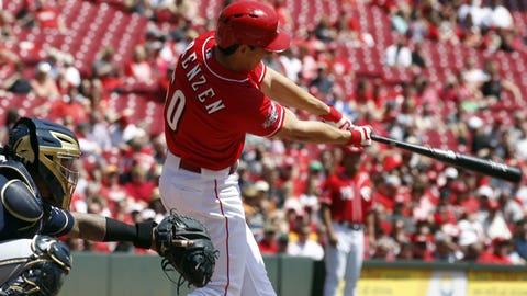 April 29 – Michael Lorenzen gets a hit in his Major League debut
