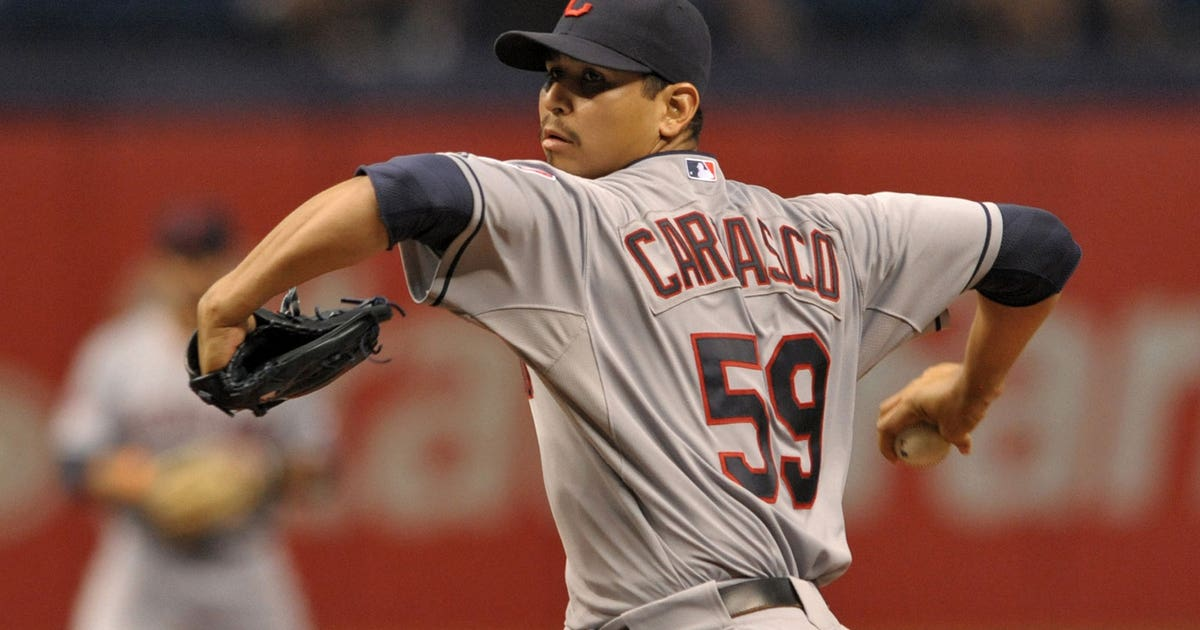Carrasco Comes 1 Strike Away From History Fox Sports