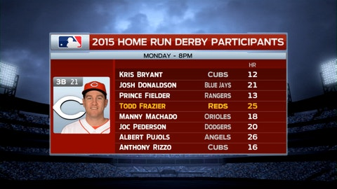 2015 HR Derby at Great American Ball Park