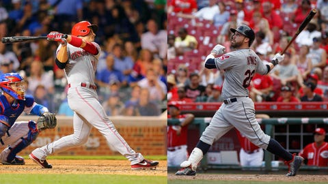 Who have been the top hitters' in MLB's second half?