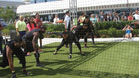 #FSSDDodgeball benefiting After-School All-Stars at the FOX Sports San Diego Grill