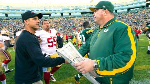 Jim Harbaugh (49ers)/Mike McCarthy (Packers)