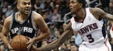 Injuries mount as Hawks lose to Spurs