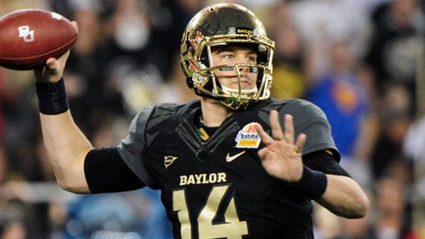 5. Bryce Petty, QB, Baylor (10-to-1)