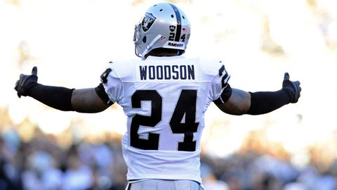 DB Charles Woodson, Raiders