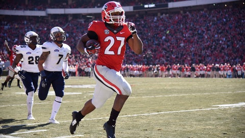10. Todd Gurley, RB, Georgia