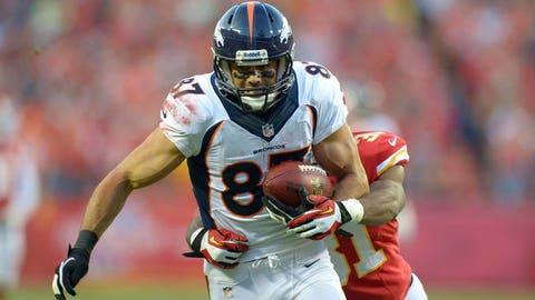WR Eric Decker, Broncos
