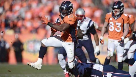 RB Knowshon Moreno, Broncos