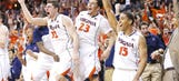 Virginia tops Syracuse, clinches first ACC title in 33 years