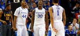 Kentucky shreds regular-season record, starts anew in SEC tourney