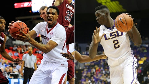 Arkansas Razorbacks/LSU Tigers