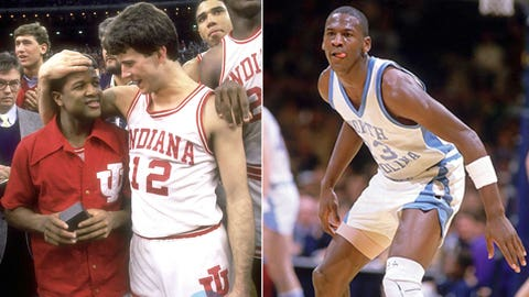 #1: 1984 -- (4) Indiana 72, (1) North Carolina 68