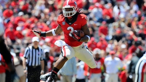 4. Todd Gurley, RB, Georgia (9-to-1)