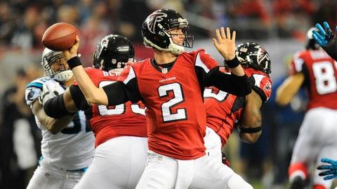 Matt Ryan (third pick, 2008, Atlanta Falcons)