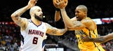 Pacers even up series as sloppy play hinders Hawks
