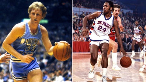 1979: Bird Beats Mark Aguirre