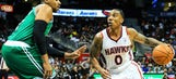 Playoffs in sight as Hawks rally past Celtics
