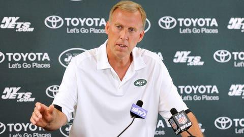 John Idzik -- New York Jets