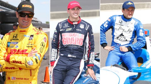 Row 7: Hunter-Reay/Rahal/Huertas