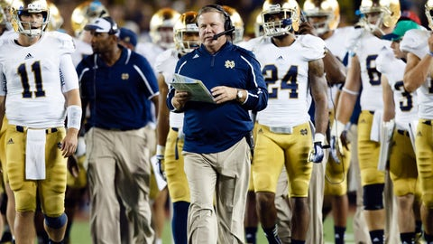 Brian Kelly, Notre Dame