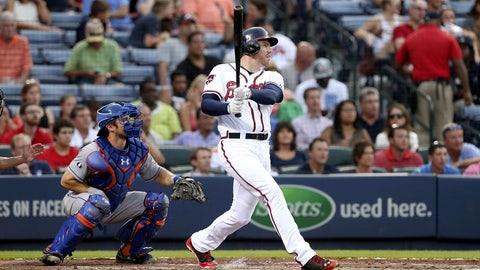First base: Freddie Freeman, Braves; Lucas Duda, Mets