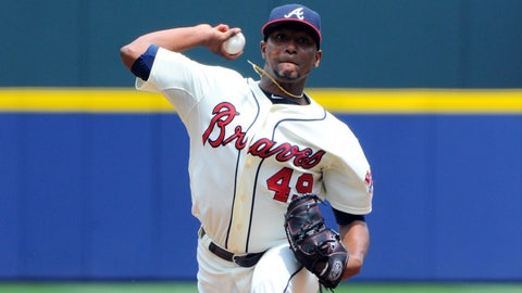 How far away is Julio Teheran from being officially tabbed as the Braves' ace?