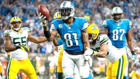 Calvin Johnson, Lions (2007-08)