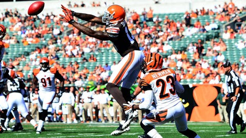 Josh Gordon, Browns (2012-13)
