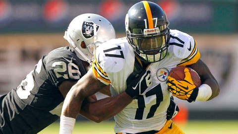 Mike Wallace, Steelers (2009-10)