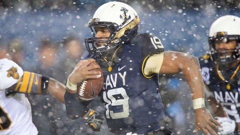 No. 4: Keenan Reynolds, Jr., Navy