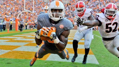 Marquez North, WR, Tennessee