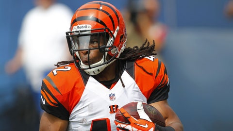 Stock DOWN: BenJarvus Green-Ellis, Cincinnati Bengals -- Running Back