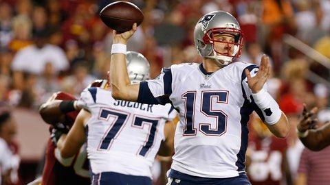 Stock DOWN: Ryan Mallett, New England Patriots -- Quarterback