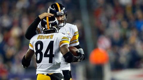 Ben Roethlisberger-Antonio Brown, Steelers