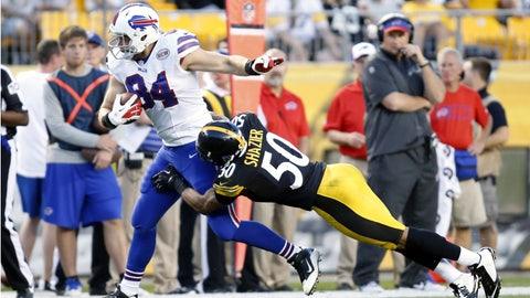 Stock UP: Ryan Shazier, Pittsburgh Steelers - Outside Linebacker