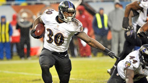 RB Bernard Pierce, Baltimore Ravens