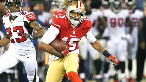 WR Michael Crabtree, San Francisco 49ers