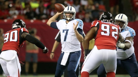Stock UP: Zach Mettenberger, Tennessee Titans - Quarterback