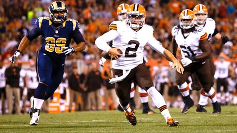 Manziel Has The Floor -- For A Day