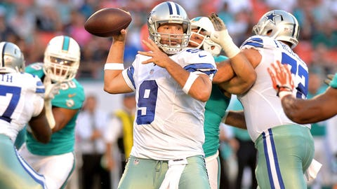 QB Tony Romo, Dallas Cowboys