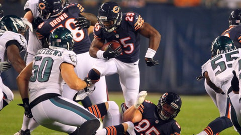 Stock DOWN: Ka'Deem Carey, Chicago Bears - Running Back