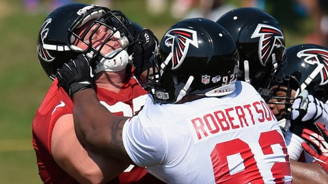 Stock DOWN: Travian Robertson, Atlanta Falcons - Defensive Tackle