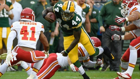 Stock DOWN: James Starks, Green Bay Packers - Running Back