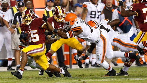 Stock DOWN: Lache Seastrunk, Free Agent - Running Back
