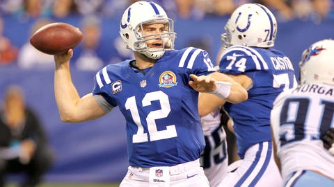 Tennessee Titans at Indianapolis Colts
