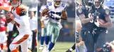 NFL's most pleasant surprises at the quarter-pole mark