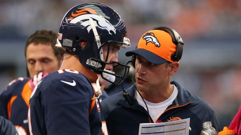 Denver Broncos Offensive Coordinator Adam Gase