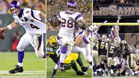 2009 NFC: Saints 31, Vikings 28 (OT)