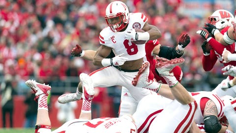 RB Ameer Abdullah, Nebraska (North)